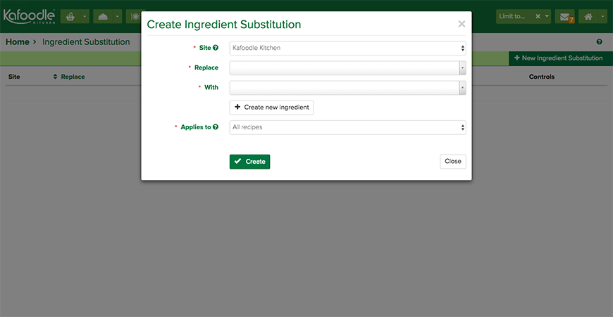Ingredient Substitutions - Kafoodle Kitchen